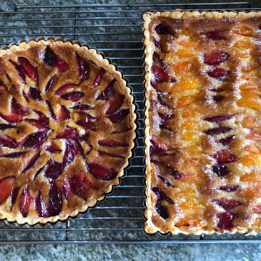 Finished tarts